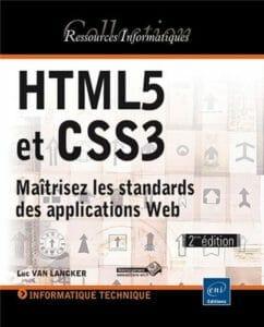 Commandez le livre : HTML5 et CSS3 - Maîtrisez les standards des applications Web