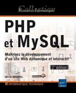 Commander sur Amazon le Livre PHP et MySQL Maîtrisez le développement d'un site Web dynamique et interactif.