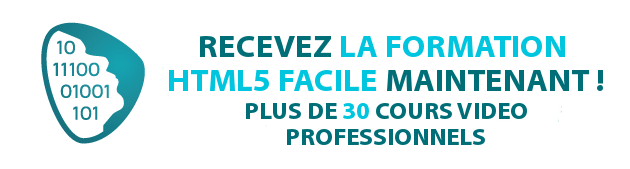 Formation HTML5 Facile !