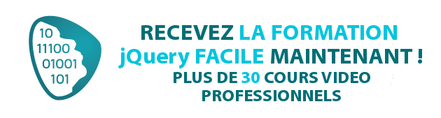 Formation jQuery Facile !