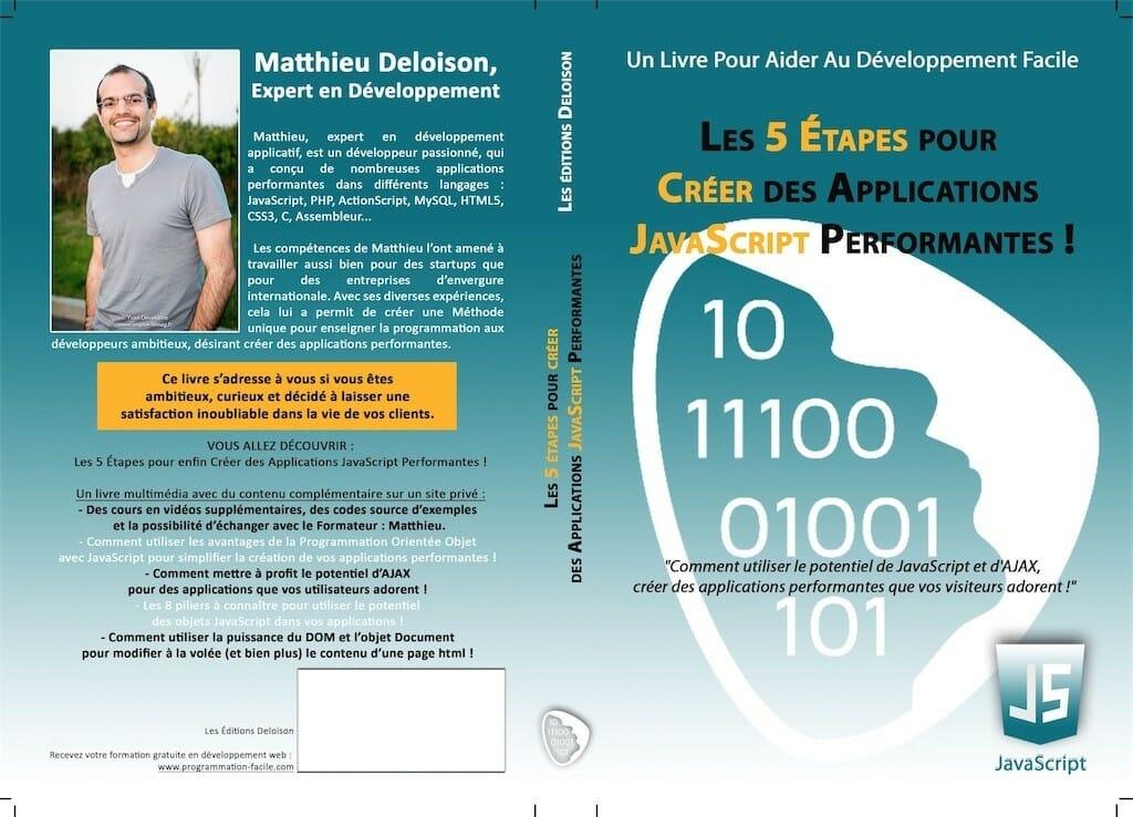 Livre Les 5 Étapes pour Créer des Applications Performantes !